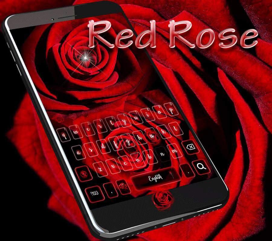 爱情红玫瑰键盘主题 红玫瑰爱情壁纸