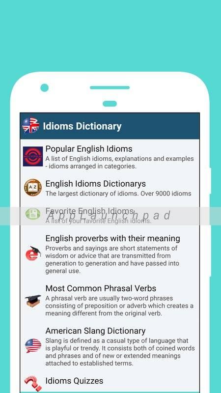 最佳英语成语词典(离线)截图2