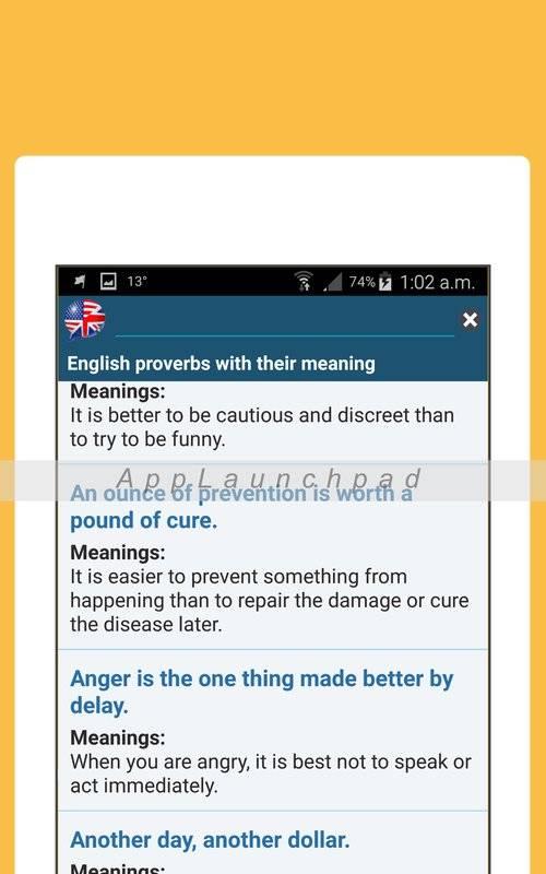 最佳英语成语词典(离线)截图6