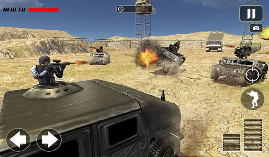 越野US军队卡车战