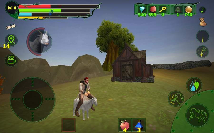 马模拟器3D - 任务山羊截图0