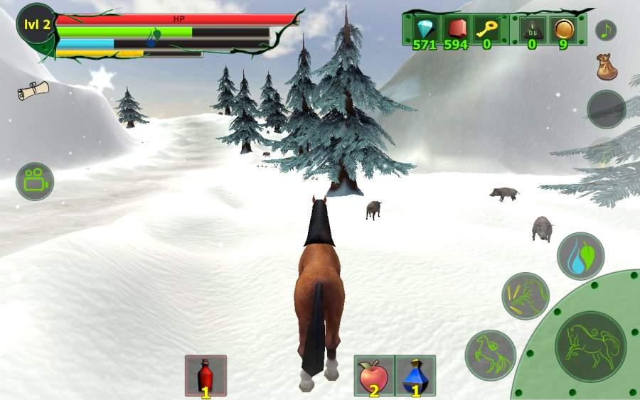 马模拟器3D - 任务山羊截图1