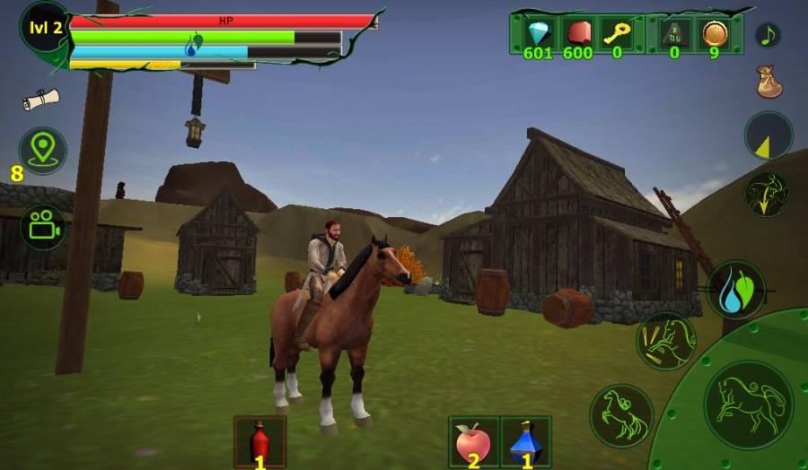 马模拟器3D - 任务山羊截图2
