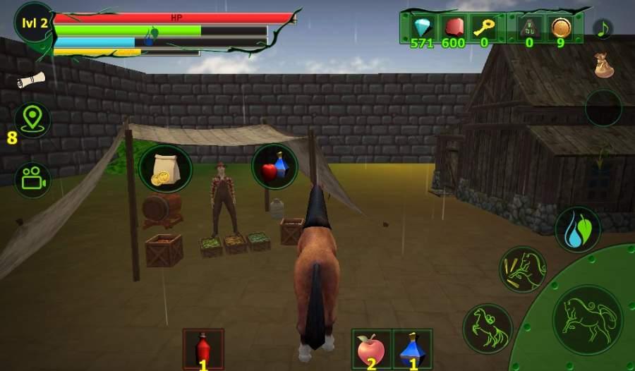 马模拟器3D - 任务山羊截图3