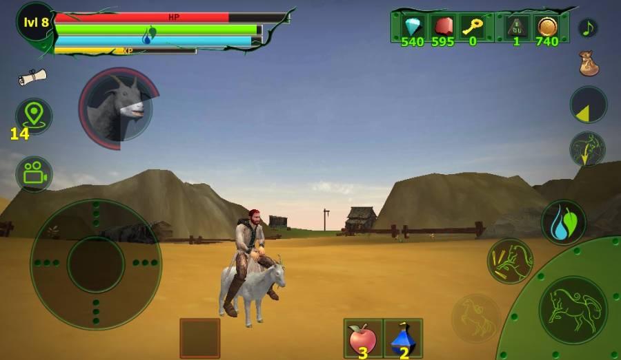 马模拟器3D - 任务山羊截图6