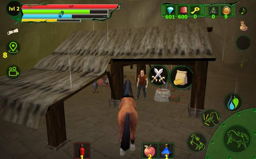 马模拟器3D - 任务山羊截图8