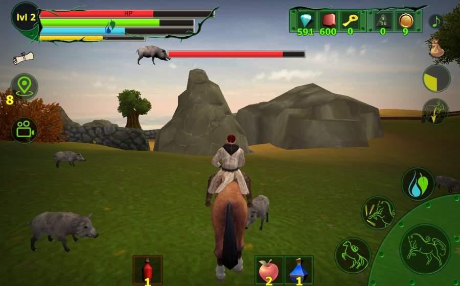 马模拟器3D - 任务山羊截图9