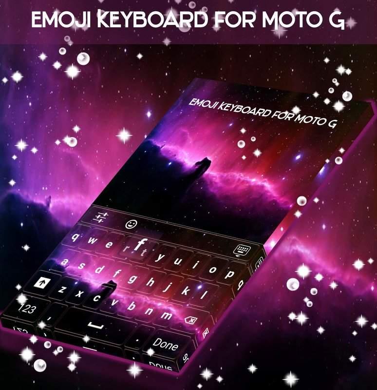 用于Moto G的表情符号键盘