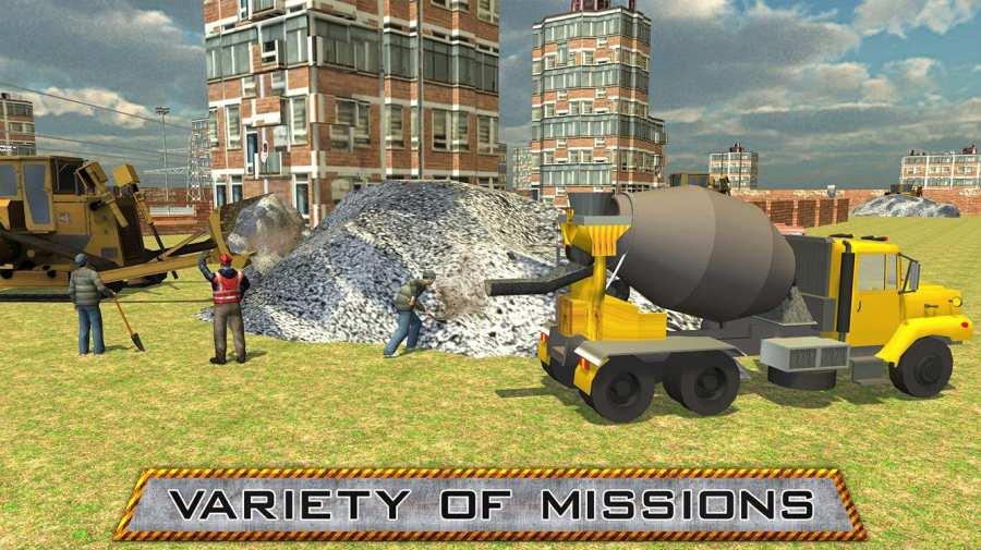 城市建设重型起重机截图1