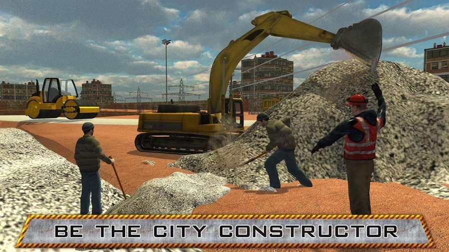 城市建设重型起重机截图2
