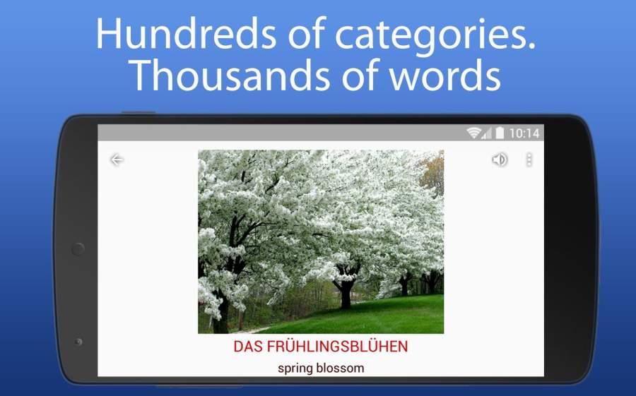 iSpeak 单词 8种语言 英语 德语 汉语 俄语 波兰语截图1