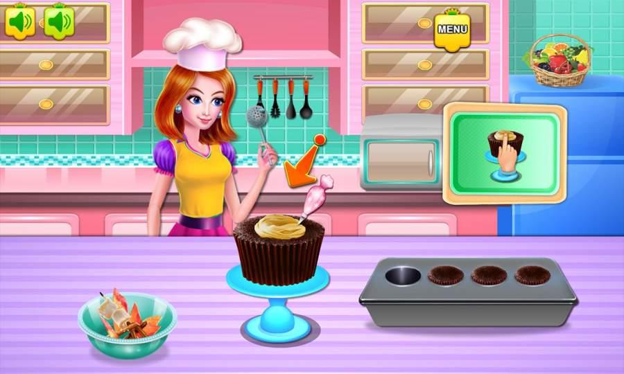 制作魔术蛋糕截图3
