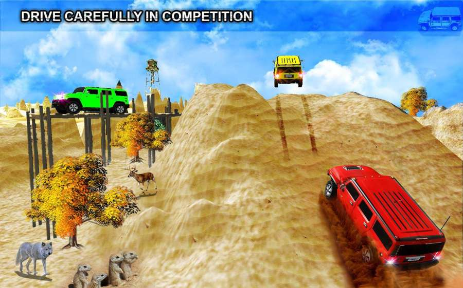 越野 蜂鸟 主动 3D 游戏截图2
