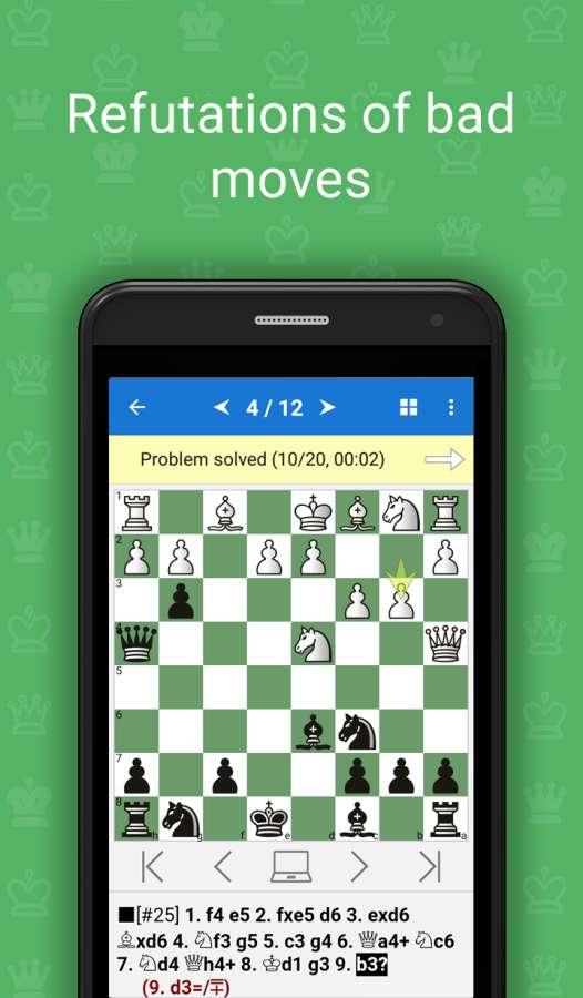 国际象棋开局漏着截图5