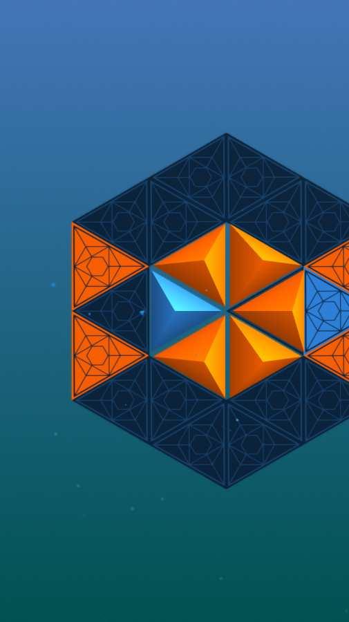延间的三角体谜题截图2