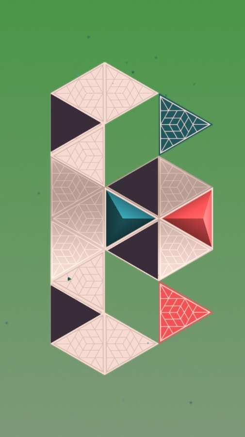 延间的三角体谜题截图3