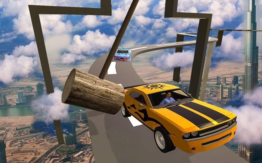 汽车 特技 狂躁 3D 轨道