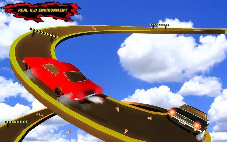 汽车 特技 狂躁 3D 轨道截图2