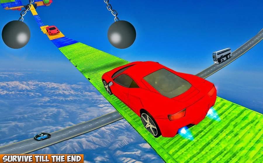 汽车 特技 狂躁 3D 轨道截图5