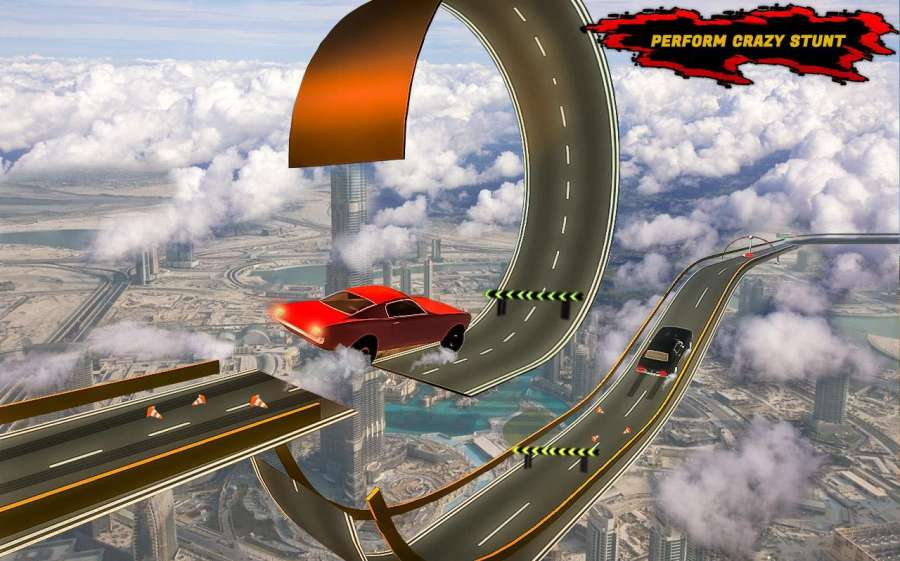 汽车 特技 狂躁 3D 轨道截图6