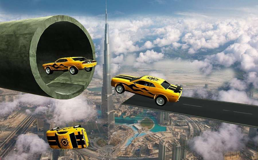 汽车 特技 狂躁 3D 轨道截图7