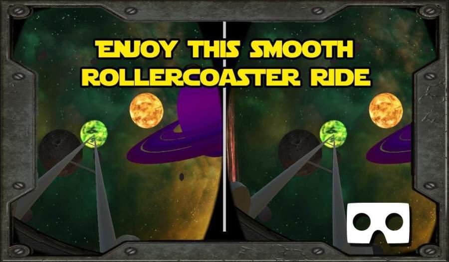 VR Solar System Roller Coaster截图2