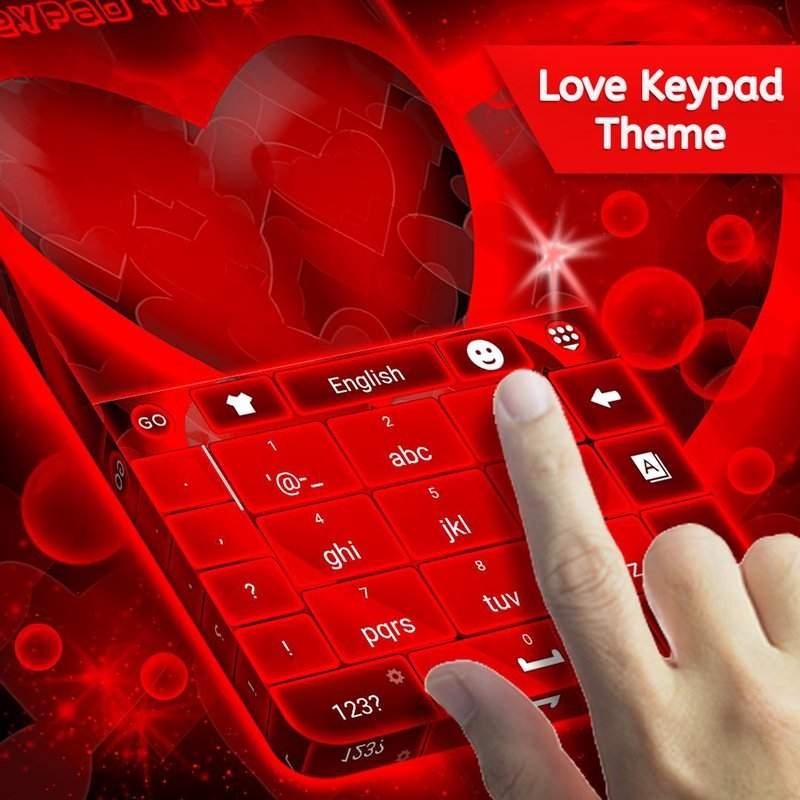 键盘爱情主题