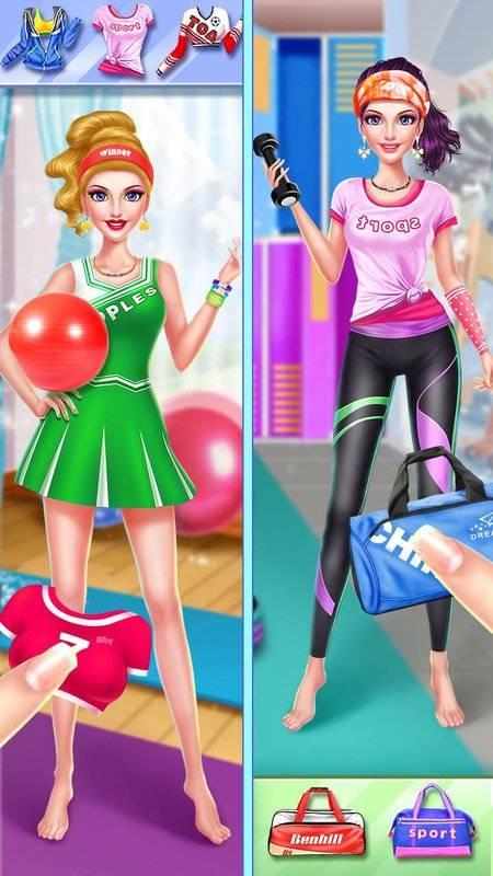 健身女孩时尚换装截图5