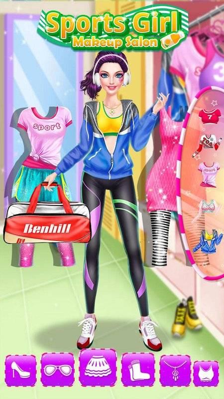 健身女孩时尚换装截图7