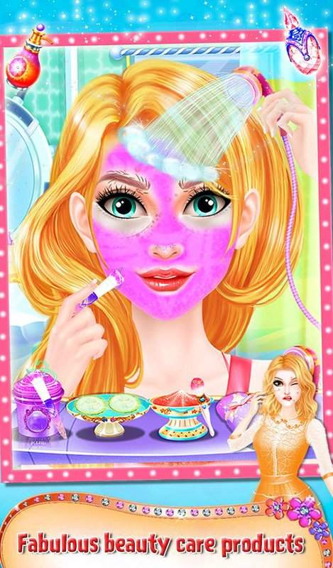 公主的情人节发型