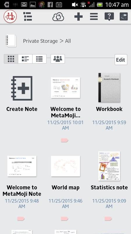 MetaMoJi Note for Business 3截图0