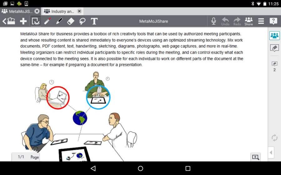 MetaMoJi Note for Business 3截图3