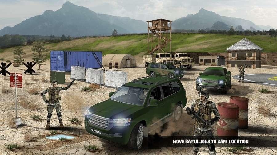 越野美国陆军运输游戏