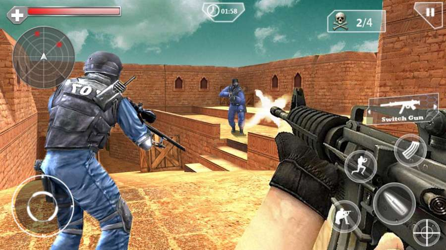 SWAT Counter Shoot截图2