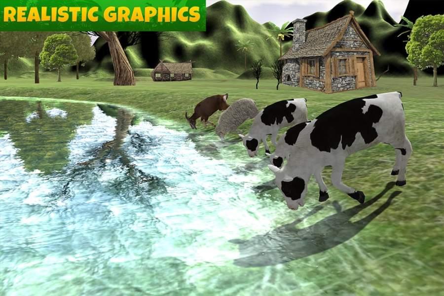 农场动物家庭截图1