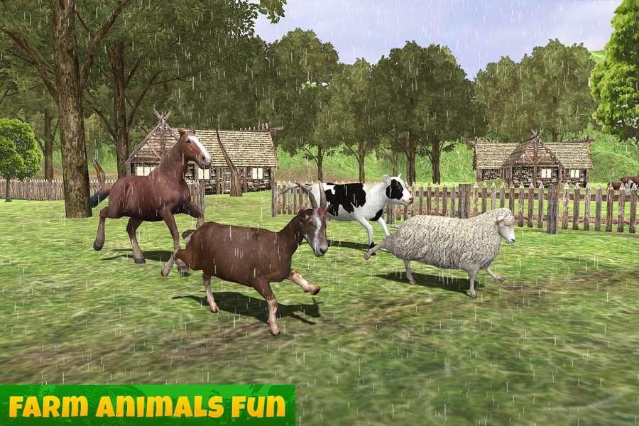 农场动物家庭截图2