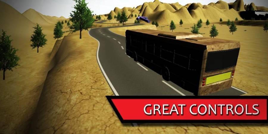 offroad bus 3d sim 2017截图2