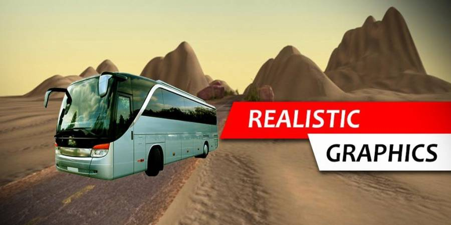 offroad bus 3d sim 2017截图3