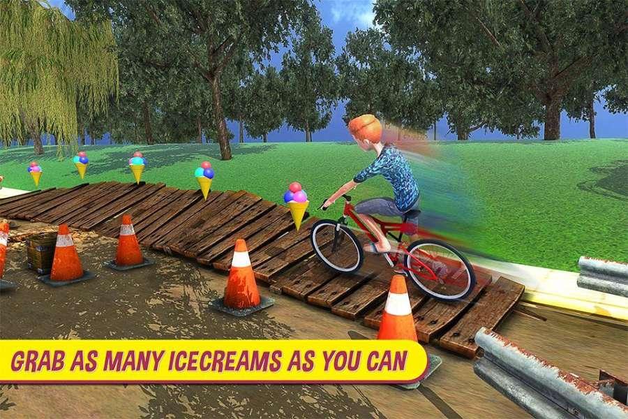 BMX自行车特技赛车游戏