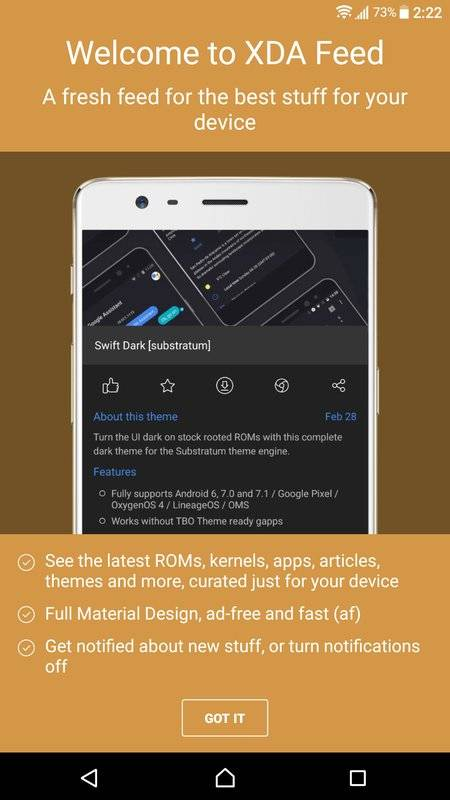 XDA Feed - Customize Your Android截图5