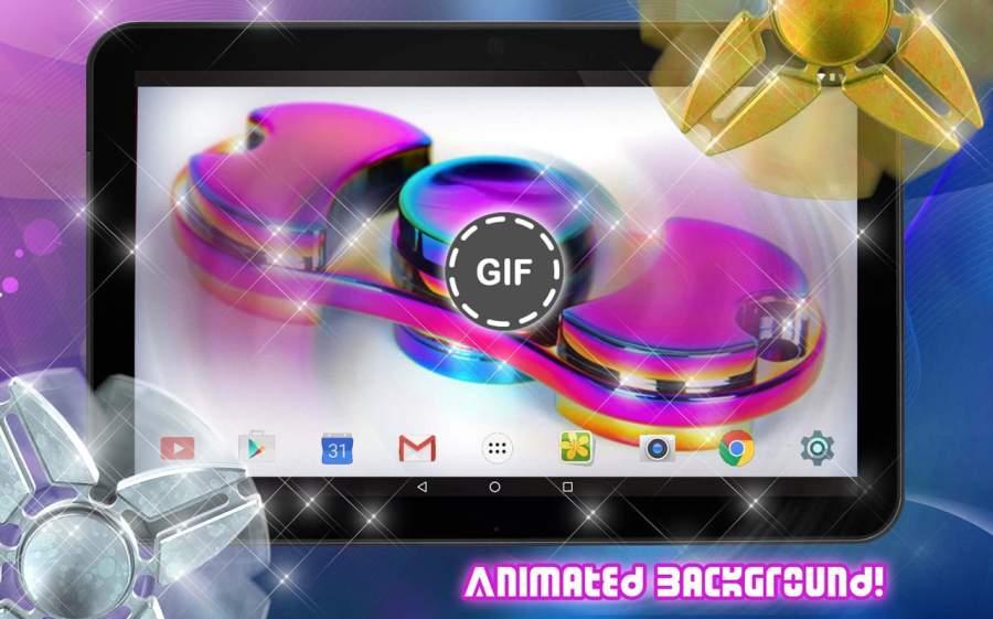 指尖陀螺遊戲 锁屏 – GIF製作截图1