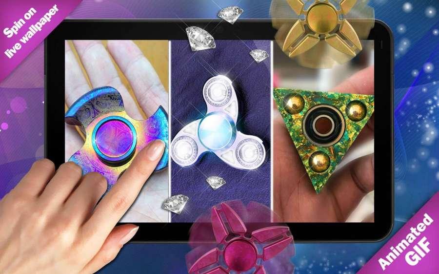 指尖陀螺遊戲 锁屏 – GIF製作截图2