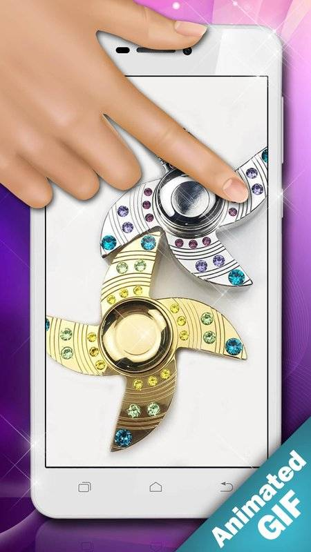 指尖陀螺遊戲 锁屏 – GIF製作截图3
