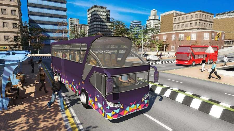 巴士模拟器2017:公共交通截图1