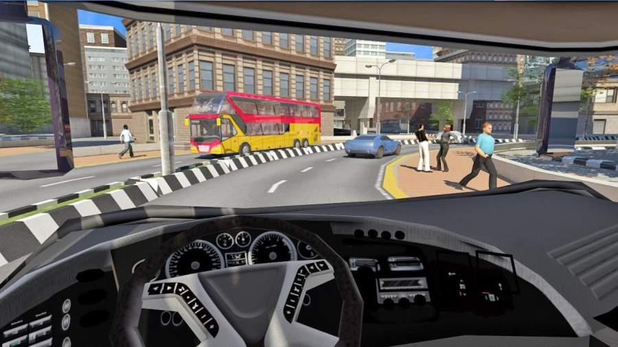 巴士模拟器2017:公共交通截图2
