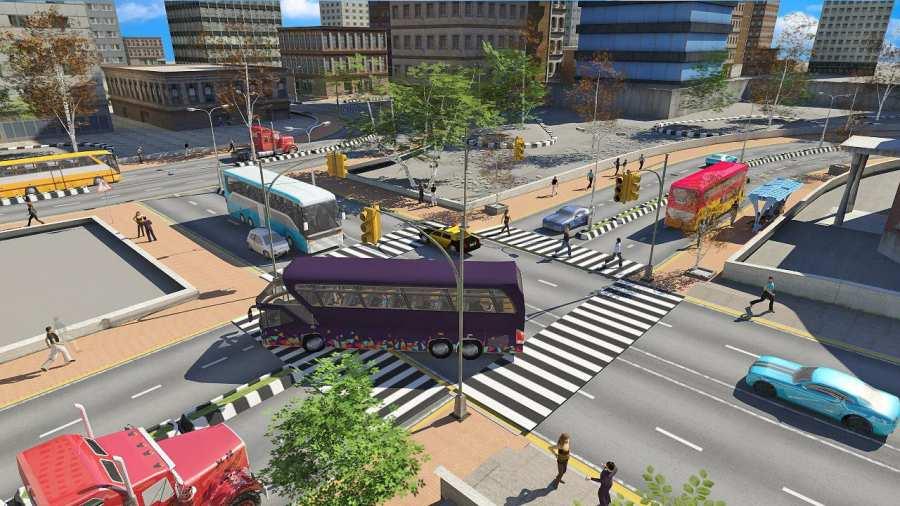 巴士模拟器2017:公共交通截图3