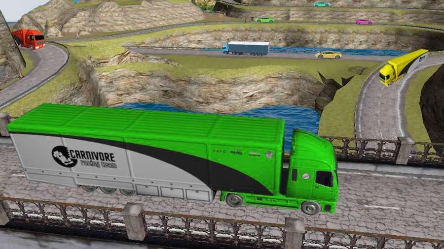 运输 卡车 英雄 司机 高速公路重 卡車 司機 模擬器截图1