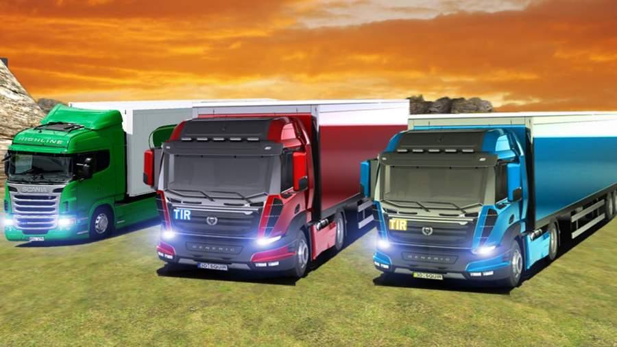 运输 卡车 英雄 司机 高速公路重 卡車 司機 模擬器截图2
