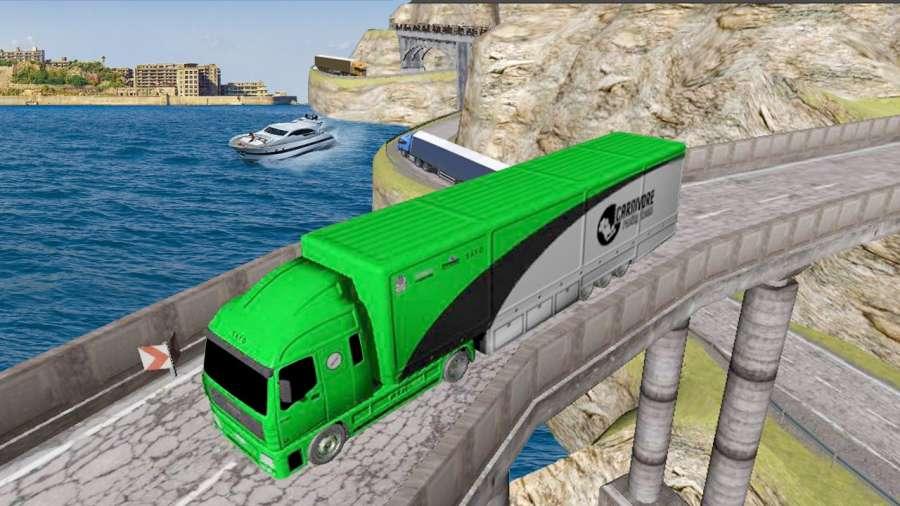 运输 卡车 英雄 司机 高速公路重 卡車 司機 模擬器截图3
