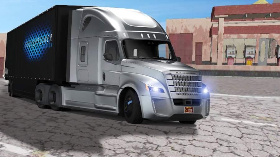 运输 卡车 英雄 司机 高速公路重 卡車 司機 模擬器截图4